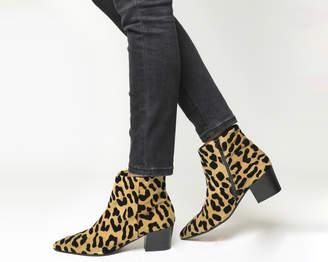 Office Aruba Pointed Block Heel Boots