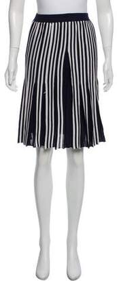 Thom Browne Pleated Knee-Length Skirt