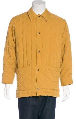 Holland & Holland Quilted Woven Jacket