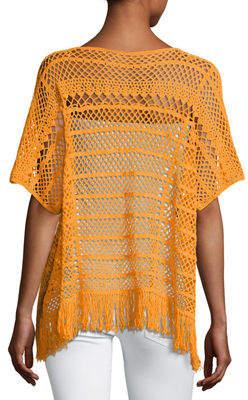 Trina Turk Kimber Crochet-Lace Sweater