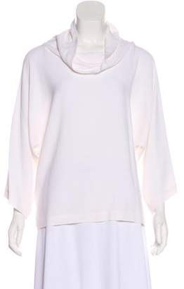Bergdorf Goodman Silk-Blend Top