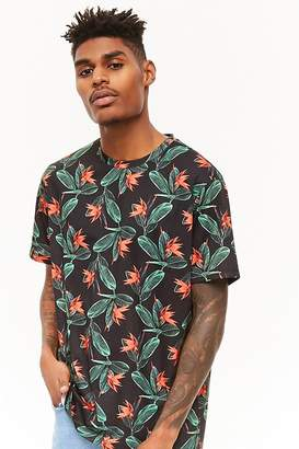 Forever 21 Bird-of-Paradise Print Tee