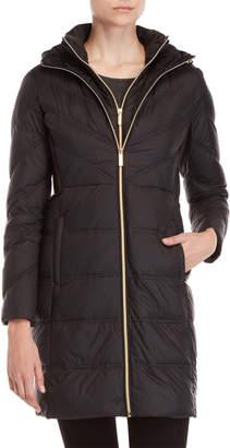 MICHAEL Michael Kors Packable Cinched Side Down Coat