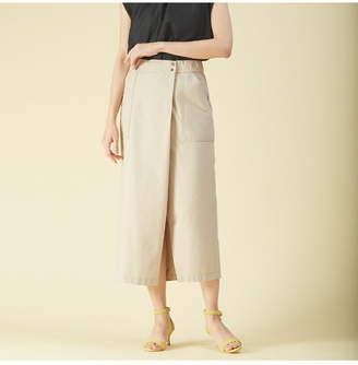 Qualite (カリテ) - qualite リネンジャージタイトスカートパンツ カリテ パンツ/ジーンズ
