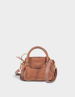 See by Chloe Miya Small Double Function Shoulder Bag in Cheek Grained Nubuck and Grained Calf