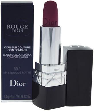 Christian Dior 0.12Oz Mysterious Matte Rouge Couture Colour Comfort & Wear Lipstick