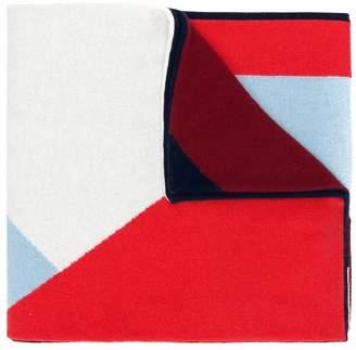 Parker Chinti & geometric patterned scarf