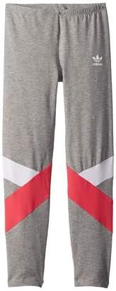 adidas Kids Leggings Girl's Casual Pants