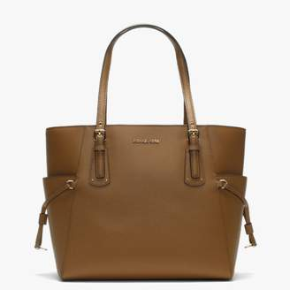 Michael Kors Voyager East West Acorn Saffiano Leather Tote Bag