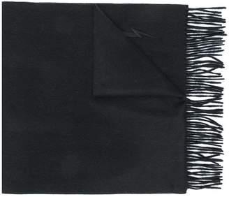 Neil Barrett fringed scarf