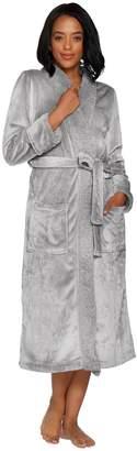Berkshire Blanket Velvet Soft Full Length Robe with Sherpa Collar by Berkshire