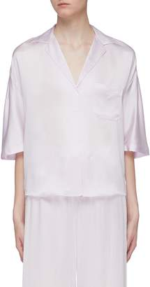 Vince Silk satin pyjama shirt
