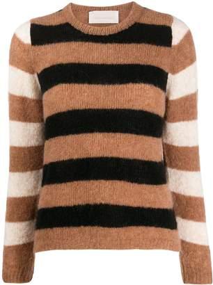 Chiara Bertani striped knit jumper