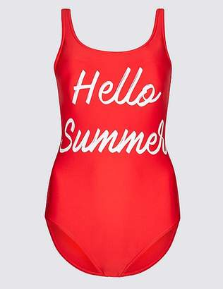 Marks and Spencer Secret SlimmingTM Printed Swimsuit