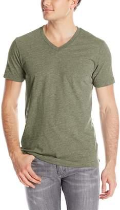 Volcom Vocom Men's Soid Short Seeve T-Shirt, Back,arge