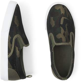 Crazy 8 Crazy8 Mesh Camo Slip-On Sneakers