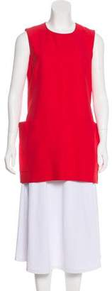 Alexander McQueen Sleeveless Tunic Top