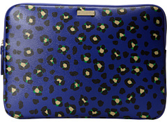 Kate Spade Cyber Cheetah Laptop Sleeve Computer Carrying Cae & Bag