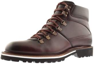 Sweeney London Rispond Boots In Burgundy