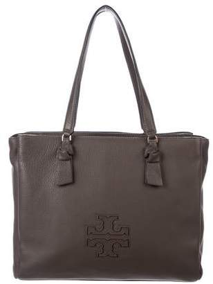 Tory Burch Leather Logo Tote