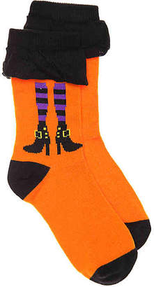 High Point Design Witch Legs Toddler & Youth Crew Socks - Girl's