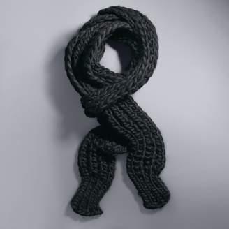 Vera Wang Simply Vera Chunky Ribbed Knit Skinny Scarf