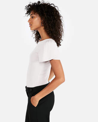 Express Puff Shoulder Tulip Sleeve Tee
