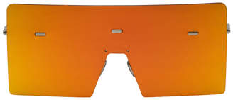 Christian Dior Orange Hardior 610T Shield Sunglasses