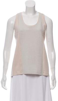 Victoria Beckham Sleeveless Mesh Top