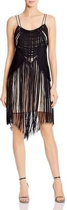 Haute Hippie Lawless Fringed Dress