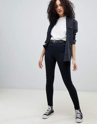 Wrangler body bespoke high rise skinny jean