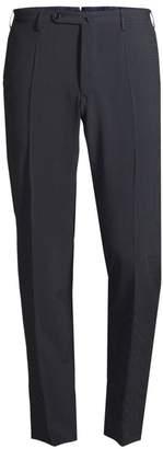 Incotex Virgin Wool & Stretch Silk Trousers
