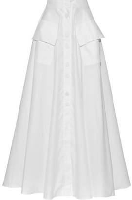 Michael Lo Sordo Cotton-poplin Maxi Skirt