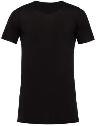 Rick Owens Basic Longline T Shirt - Mens - Black