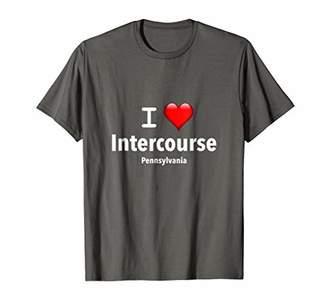I Love Intercourse Pennsylvania T-Shirt