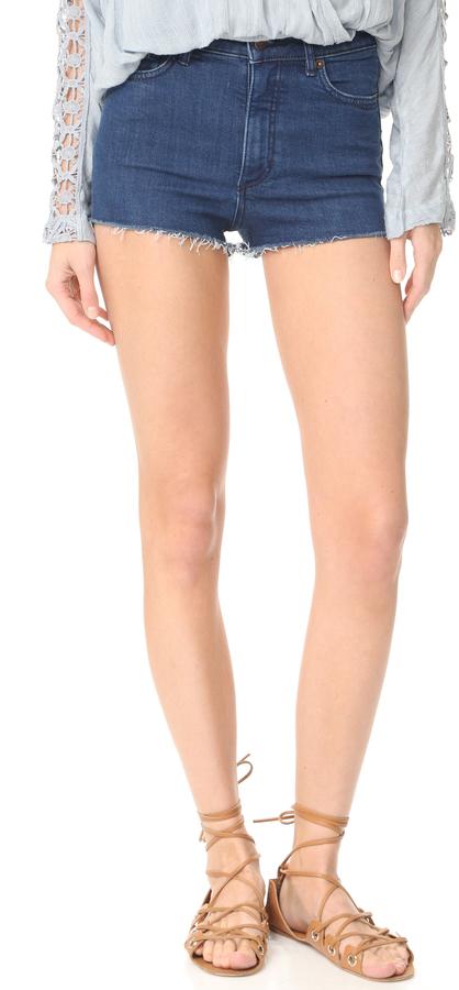 Free People High & Tight Cutoff Shorts