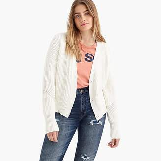 J.Crew Point Sur ribbed cardigan sweater