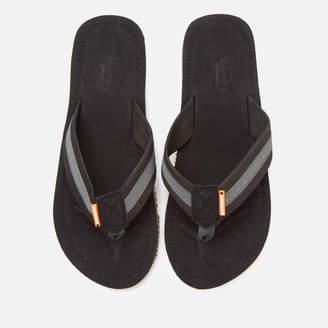 Superdry Men's Cove 2.0 Flip Flops - Black/Charcoal