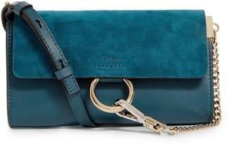 Chloé Mini Leather Faye Shoulder Bag