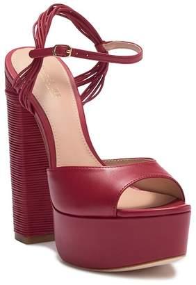 Rachel Zoe Willow Leather Platform Heel