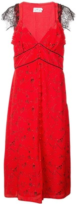 Tanya Taylor lace trim dress