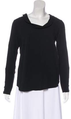 See by Chloe Long Sleeve Cowl Neck Top