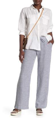 Joe Fresh Striped Wide Leg Pants