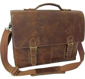 AmeriLeather Amerileather Classical Leather Organizer Briefcase