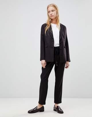 B.young Stripe Suit Pants