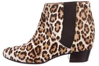 Golden Goose Ponyhair Round-Toe Ankle Boots