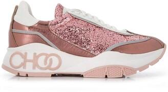 Jimmy Choo Raine glitter sneakers