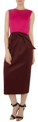 Ted Baker Nikkita Color-Block Midi Dress