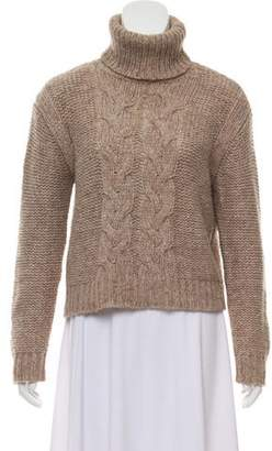 Rachel Zoe Cable Knit Turtleneck Sweater