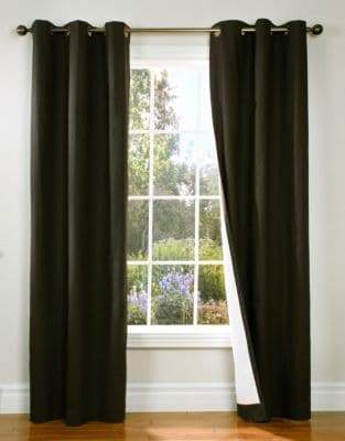 Commonwealth Home Fashions Energy-Saving Blackout Curtain Panel